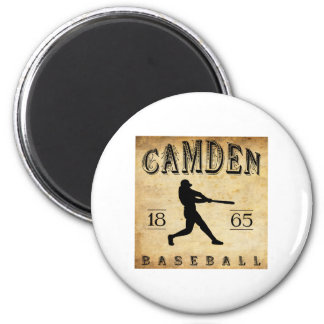 1865 Camden New Jersey Baseball 6 Cm Round Magnet