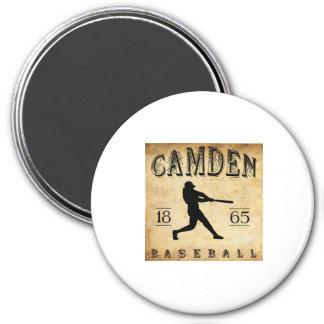 1865 Camden New Jersey Baseball 7.5 Cm Round Magnet