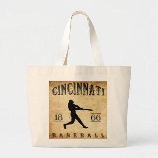 1866 Cincinnati Ohio Baseball Jumbo Tote Bag