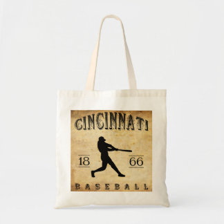 1866 Cincinnati Ohio Baseball Budget Tote Bag