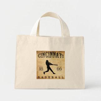 1866 Cincinnati Ohio Baseball Mini Tote Bag