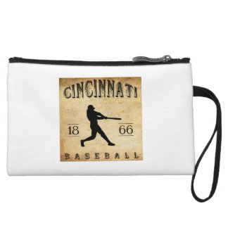 1866 Cincinnati Ohio Baseball Wristlet Clutches