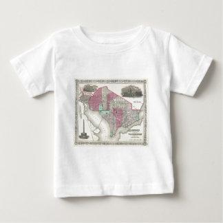 1866 Johnson Map of Washington D.C. T Shirt