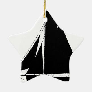 1867 solent cutter - tony fernandes christmas ornament