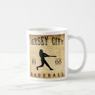 1868 Jersey City New Jersey Baseball Basic White Mug