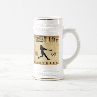 1868 Jersey City New Jersey Baseball Beer Steins