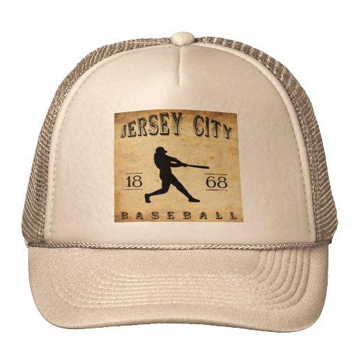 1868 Jersey City New Jersey Baseball Mesh Hats