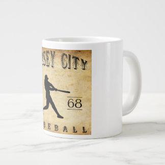 1868 Jersey City New Jersey Baseball Jumbo Mug
