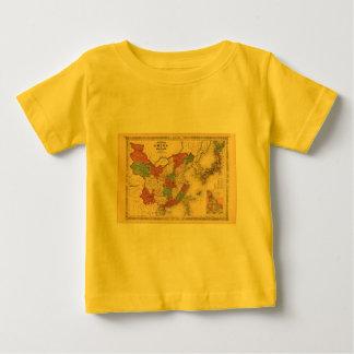 1868 Map - Johnson's China and Japan T Shirt