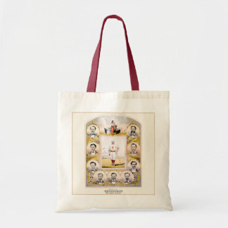1869 Red Stockings Budget Tote Bag