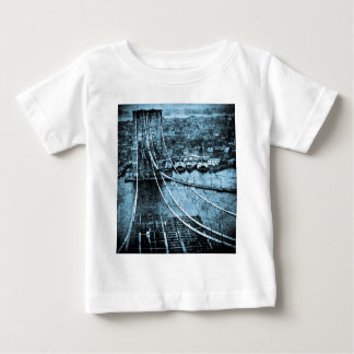 1870s Construction of  Brooklyn Bridge New York Shirt