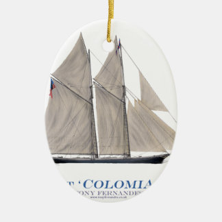 1871 Colombia Christmas Ornament
