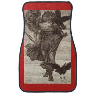 1871 Odin, Norse God of War Car Mat