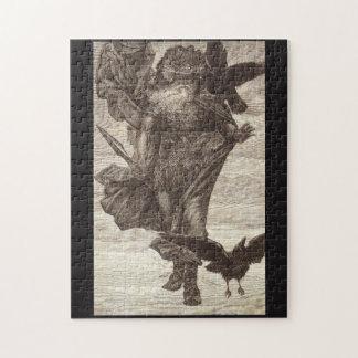 1871 Odin, Northern God of War Jigsaw Puzzle