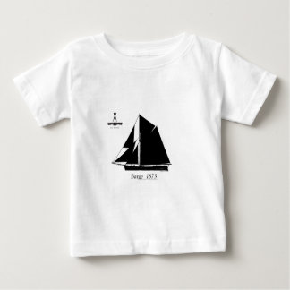 1873 Barge - tony fernandes Baby T-Shirt