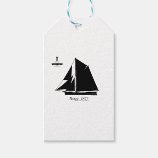 1873 Barge - tony fernandes Gift Tags
