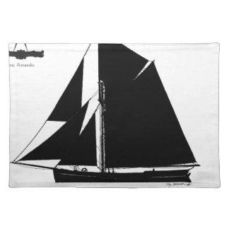 1873 Barge - tony fernandes Placemat
