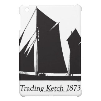 1873 trading ketch - tony fernandes cover for the iPad mini