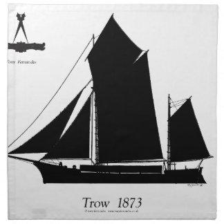 1873 trow - tony fernandes napkin