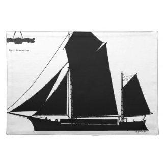 1873 trow - tony fernandes placemat