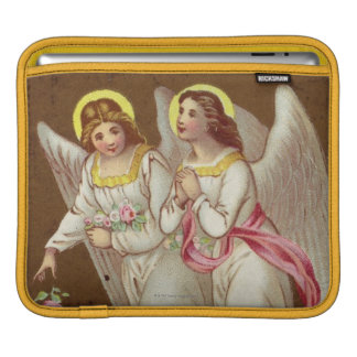 1875: A Victorian greetings card iPad Sleeve