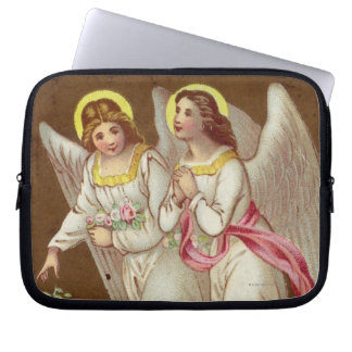 1875: A Victorian greetings card Laptop Sleeve