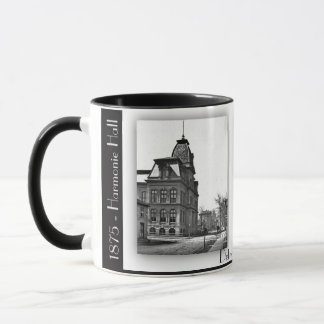 1875 and 1899 Harmonie Hall. Detroit Mi Mug