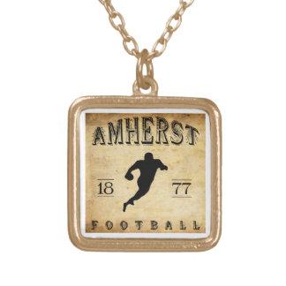 1877 Amherst Massachusetts Football Necklaces