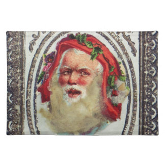 1878: A Victorian Christmas greetings card Placemat