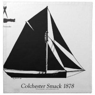 1878 Colchester Smack - tony fernandes Napkin