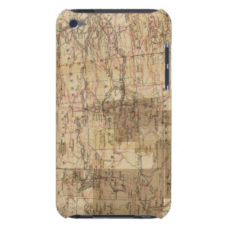 1878 Progress Map of The US Geographical Surveys 2 Barely There iPod Cases