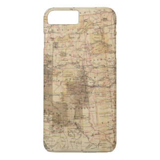 1878 Progress Map of The US Geographical Surveys 2 iPhone 8 Plus/7 Plus Case