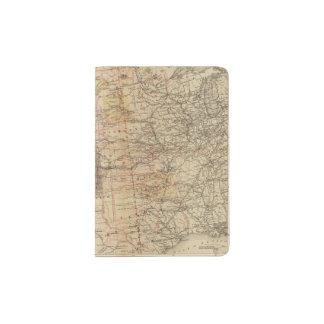 1878 Progress Map of The US Geographical Surveys 2 Passport Holder
