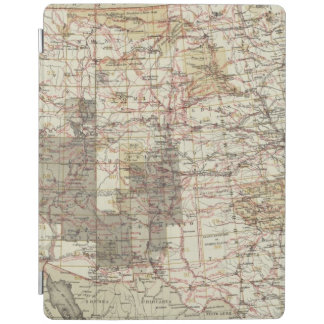 1878 Progress Map of The US Geographical Surveys iPad Cover