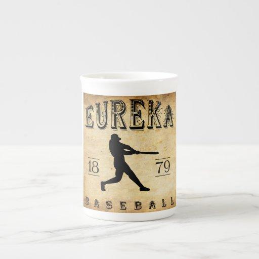 1879 Eureka California Baseball Bone China Mug