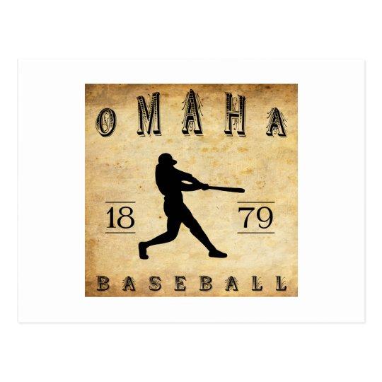 1879 Omaha Nebraska Baseball Postcard