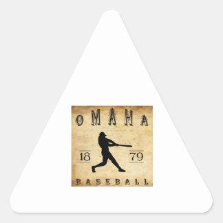 1879 Omaha Nebraska Baseball Sticker