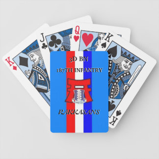 187th INFANTRY Playing Cards