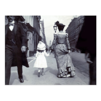 1880 Mother + Daughter in Boston Post Cards