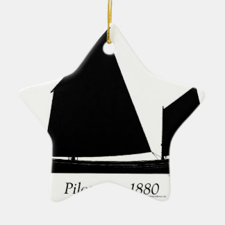 1880 Pilot Gig - tony fernandes Christmas Ornament