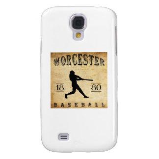1880 Worcester Massachusetts Baseball Galaxy S4 Case