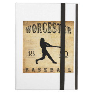1880 Worcester Massachusetts Baseball iPad Cases