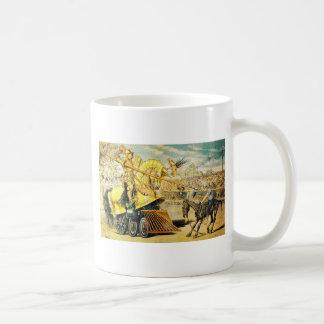 1880s A Tournament of Today Puck Graetz Coffee Mug