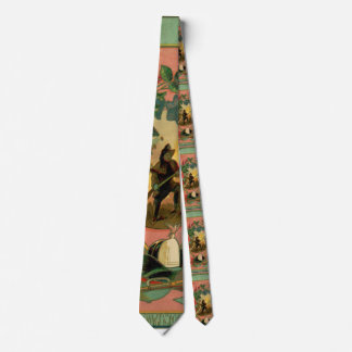 1880's Fireman Firefighter Artwork 2 Fire Tie