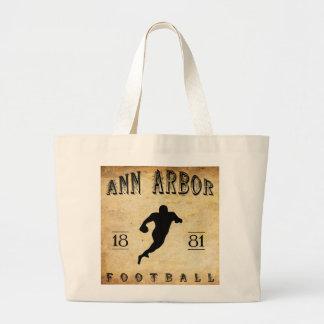1881 Ann Arbor Michigan Football Bags