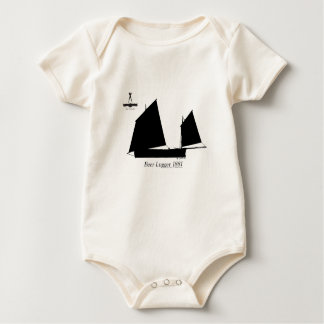 1881 Beer Lugger - tony fernandes Baby Bodysuit