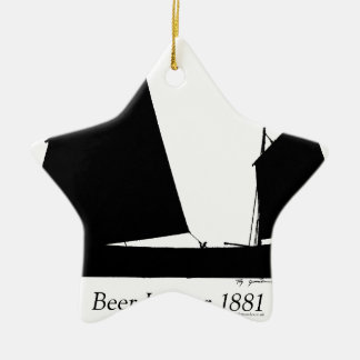 1881 Beer Lugger - tony fernandes Christmas Ornament