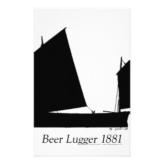 1881 Beer Lugger - tony fernandes Stationery