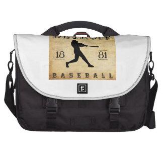 1881 Detroit Michigan Baseball Commuter Bag