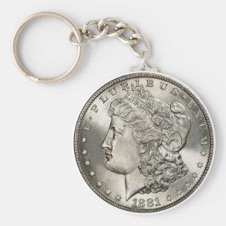 1881 morgan basic key chain